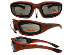Okulary zimowe Global Vision KickBack Orange